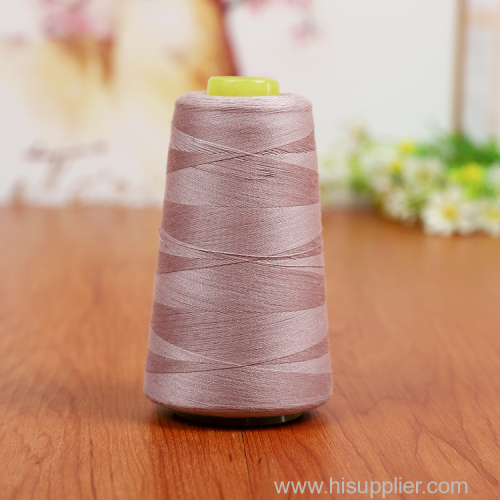 Wholesale Spun Polyester 100% Sewing Thread 40/2 30/2 20/2 For PP Woven Bag Elastic Thread Factory Supply in China