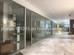 Safety commercial Shopping mall Glass Partition
