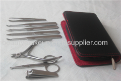 Fashion power factory mens manicure set ladies manicure at home french manicure pedicure kit nail kit nail clippers