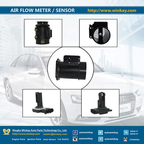 Maf Air Flow Meter Sensor for Opel Bwm Benz Volvo Peugeot Citroen Renault V. W. Audi Skoda