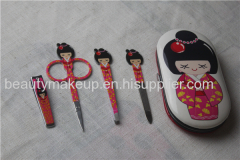 colorful manicure set ladies manicure at home french manicure pedicure kit nail kit nail clippers nail file