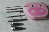 Cute Cartoon manicure set ladies manicure at home french manicure pedicure kit nail kit nail clippers scissors