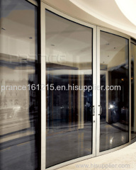 Sound insulated newest office building lobby glass door