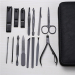 mens manicure set ladies manicure at home french manicure pedicure kit nail kit nail clippers leather manicure kit