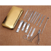 Fashion mens manicure set ladies manicure at home french manicure pedicure kit nail kit nail clippers cuticle remover