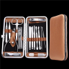 Fashion mens manicure set ladies manicure at home french manicure pedicure kit nail kit nail clippers skin care tools
