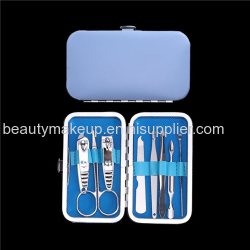 mens manicure set women's manicure set leather case french manicure pedicure kit nail kit nail clippers cuticle cutter