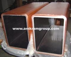 Rectangular copper mould tubes