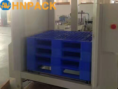 Hennopack multiple size Automatic plastic empty Pallet magazine Dispenser Machine with CE Approved