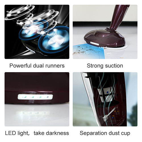 wireless vacuum cleaner floor mop electric microfiber dust cleaning mop