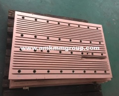 Copper mould plate for CCM