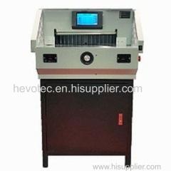Touch Screen Program Paper Cutting Machine