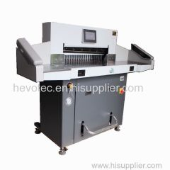 Double Hydraulic Paper Cutter With Side Table