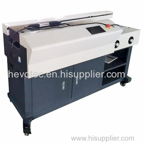 Side Glue Single Roller Perfect Binding Machine
