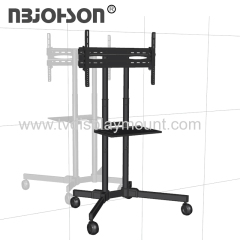 Simple Easy Move Telescoping Adjustment Vertical Sliding TV Stand Mount
