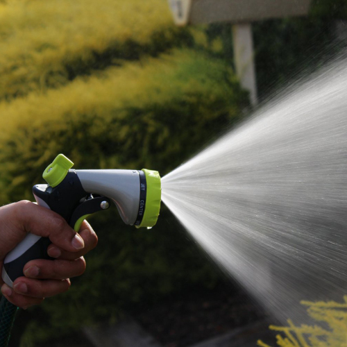 Heavy Duty Metal 8-Pattern Garden Water Spray Gun