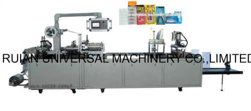 Automatic Medical Equipment Battery Plastic Card Blister Sealing Packaging Machine