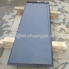 Polished Granite Marble China Black / Hebei Black Slabs Y-01 Plate