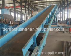 Belt Conveyor Steel Shredder Machine
