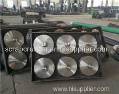 Damping Base China Scrap Metal Shredder