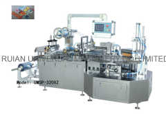 Semiautomatic Rotary Suction Card Blister Forming Sealing Packing Machine