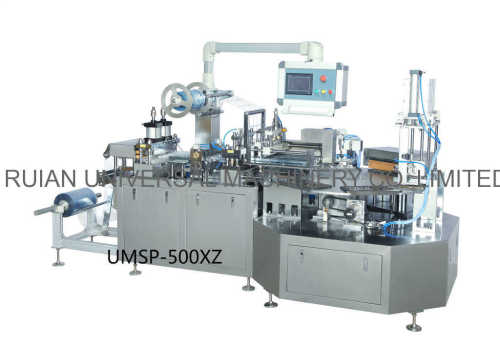 Automatic Small Ball Bottle Plastic Card Blister Packaging Machine