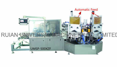 Full Automatic Ballpoint Pen Glue Cardboard Blister Forming Packing Machine
