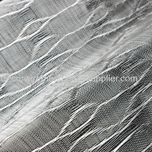 Colorful Textile with stainless steel wire