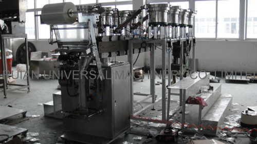 Full Automatic Hardware Screw Packing Machine with 8 bowls
