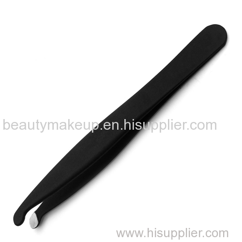 rubber and plastic surface round tip tweezers eyebrow tweezers best tweezers for eyebrows tweezerman tweezers