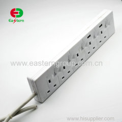 5 way power strip individual switch
