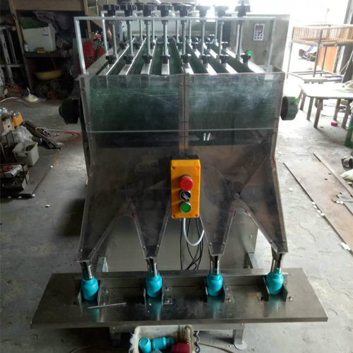 Filling iodophor cotton ball machine