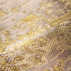 Soft Metallic Textile for Wall Decoration