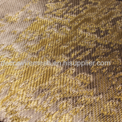 silk embroidery glass lamination wire mesh