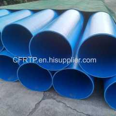 CFRTP PE pipeline system