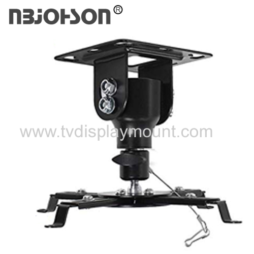 NBJOHSON Adjustable Projector Mount with Tilt and Swivel Function
