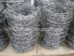 Reverse Twist High Tension Barbed Wire