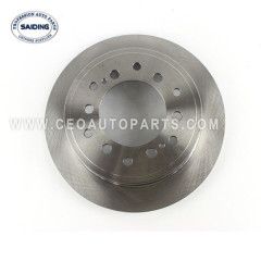 SAIDING Brake dics 42431-60200 For 09/2002-02/2010 TOYOTA LAND CRUISER PRADO GRJ120 KZJ120 LJ120 RZJ120