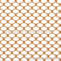 aluminum drapery rose golden metal curtain GC-A1-80