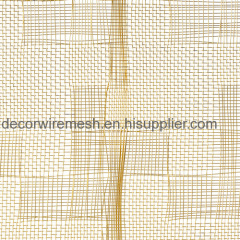 Textile-Like Woven Metal Fabric
