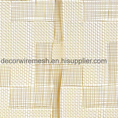 Textile-Like Woven Metal Fabric