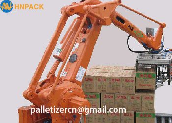 Hennopack KUKA ABB FANUC Robotic Arm application suitable for chemical food and other stacking robotic palletizer