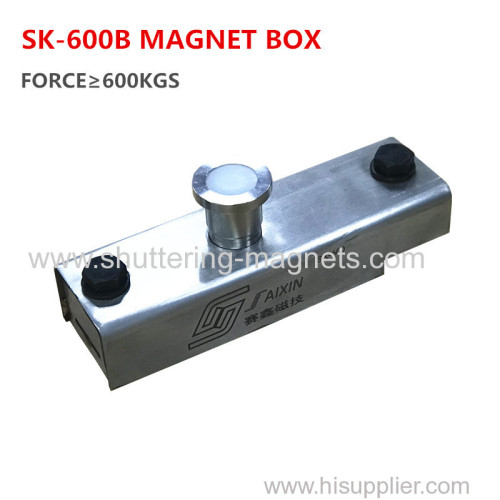 stainless steel 600KGS precast concrete magnet box shuttering magnet permanent magnets