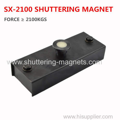 shuttering magnet box 2100kgs precast concrete magnet box permanent magnets