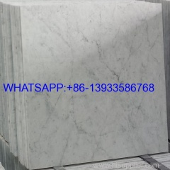 Natural Bianco Carrara White Marble Tiles and Slabs