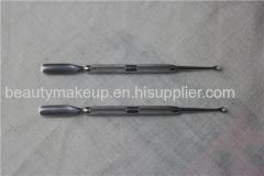 cuticle cutter metal cuticle pusher cuticle trimmer cuticle tool nail cleaner nail pusher tool spoon and pusher set