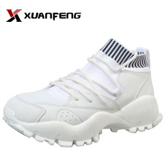 Tex trail walking shoes sock sport shoes with white sole