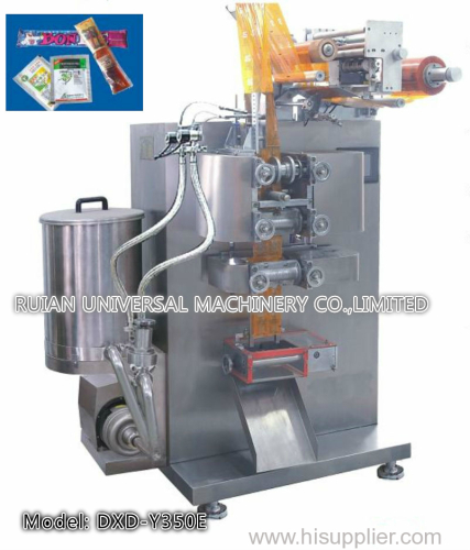 Full Automatic Wine Medicine Water Liquid Packing Machine for 4 Side Seal