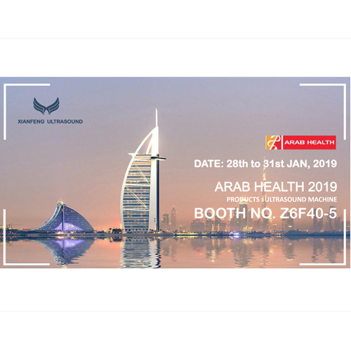 Dubai ARAB Health Exhibition on 28th Jan 2019