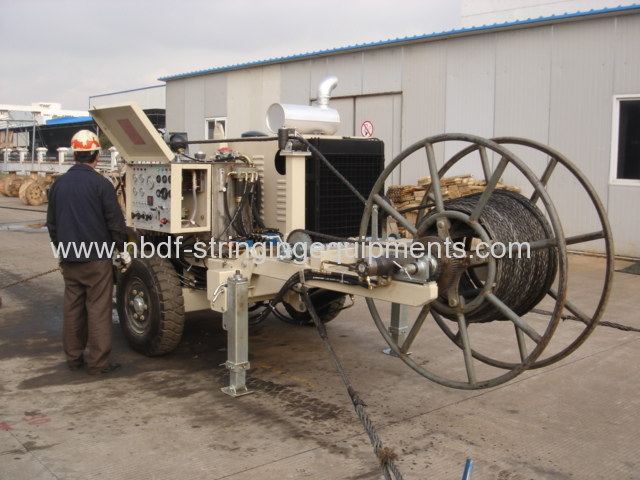 Stringing Equipment hydraulic puller tensioner Test and Export